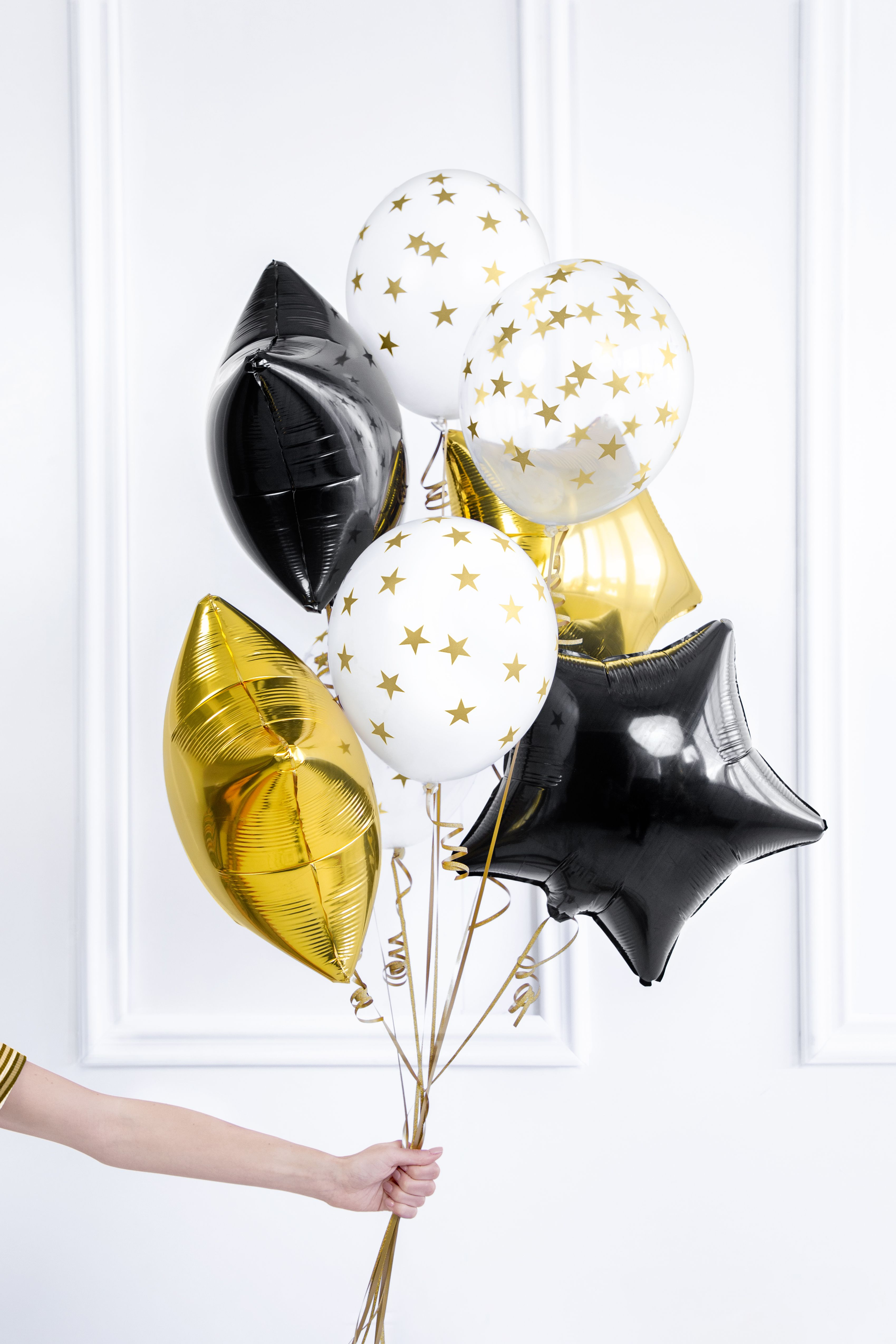 Gold New Year S Party Collection Balloons 2021 New Year S Party Decorations Foil Balloons Balloon Decorations 2021 new year balloons and gift