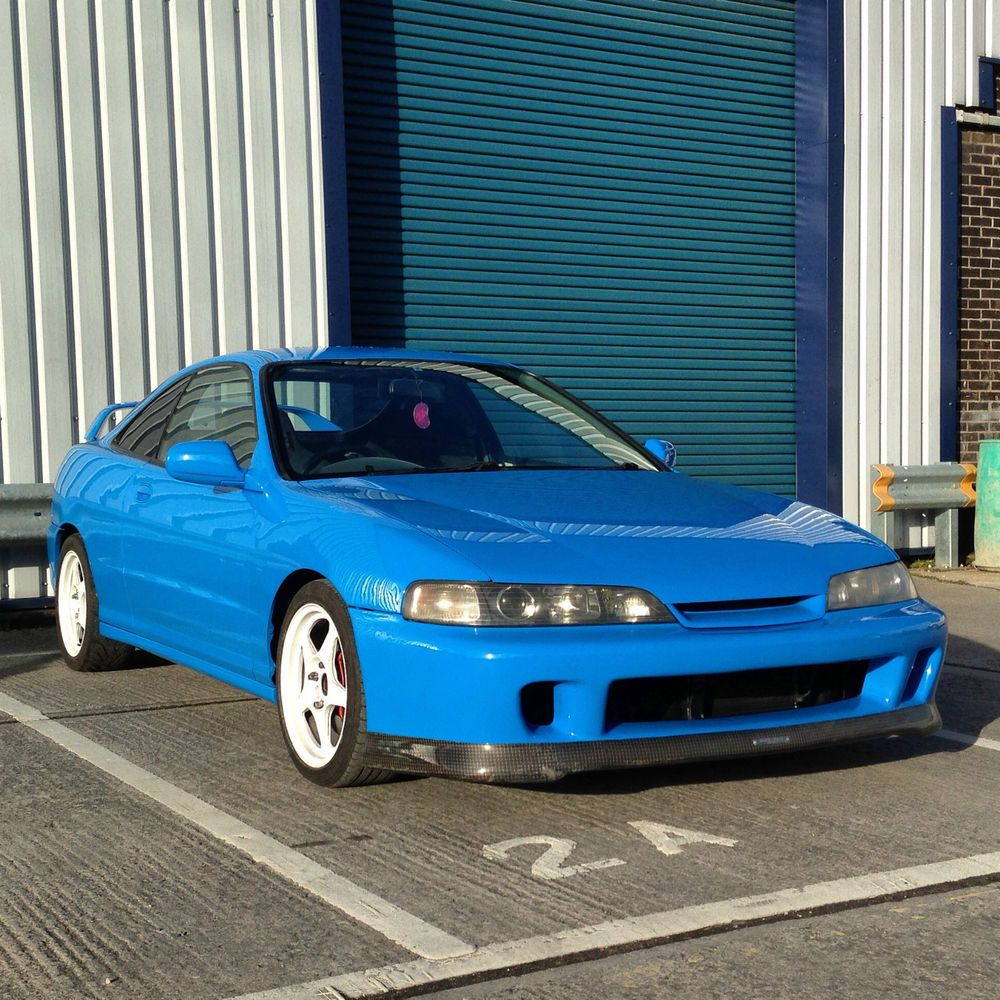 Honda Integra DC2 Type R Blue JDM 96 Spec 218bhp B18cr