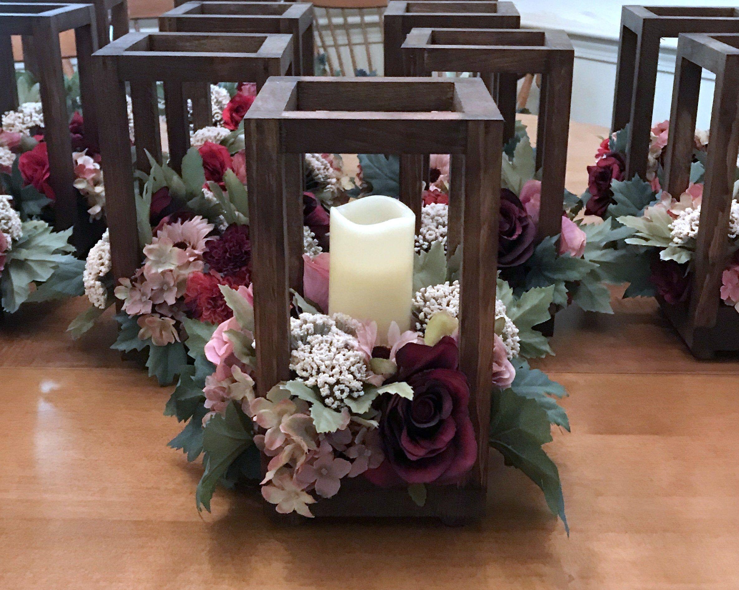 6 bulk wedding lantern centerpiece rustic wedding table