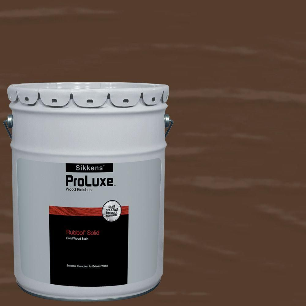PPG ProLuxe 5-gal  #HDGSIK710-201 Chestnut Brown Rubbol