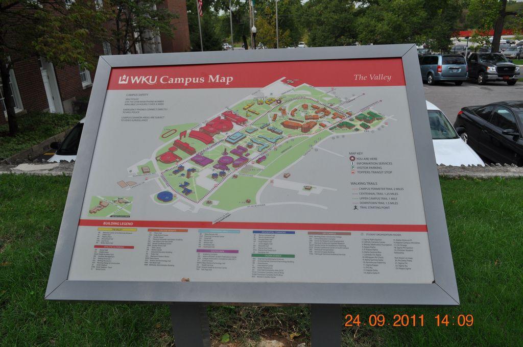 Wku Campus Map Near Ky Museum Campus Map Campus Map