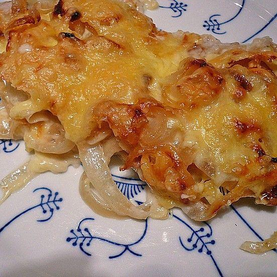 Sahne - Zwiebel - Schnitzel von Seide | Chefkoch