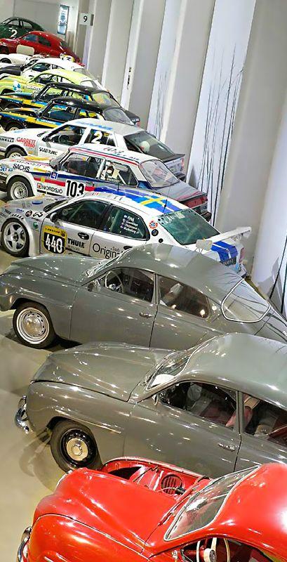Saab Car Museum Trollhättan Sweden Thea