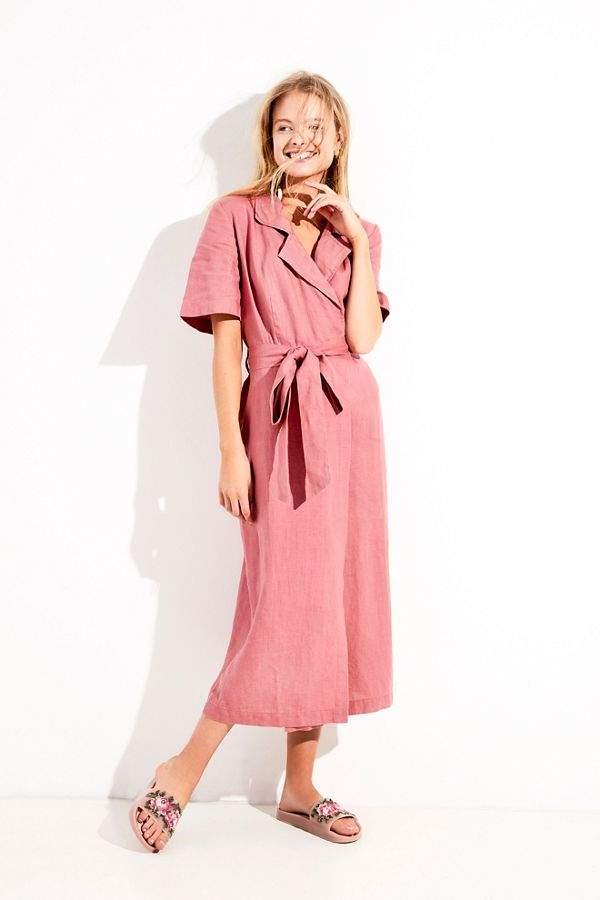 b051d4ad48 Klara Wrap Midi Dress in 2018