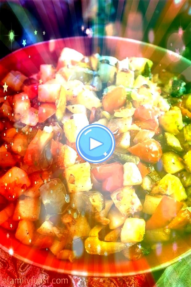 is a classic side dish dating back to the early 1900s made from fried diced potatoes plus red and green bell peppers and other seasoningsPotatoes OBrien is a classic side...