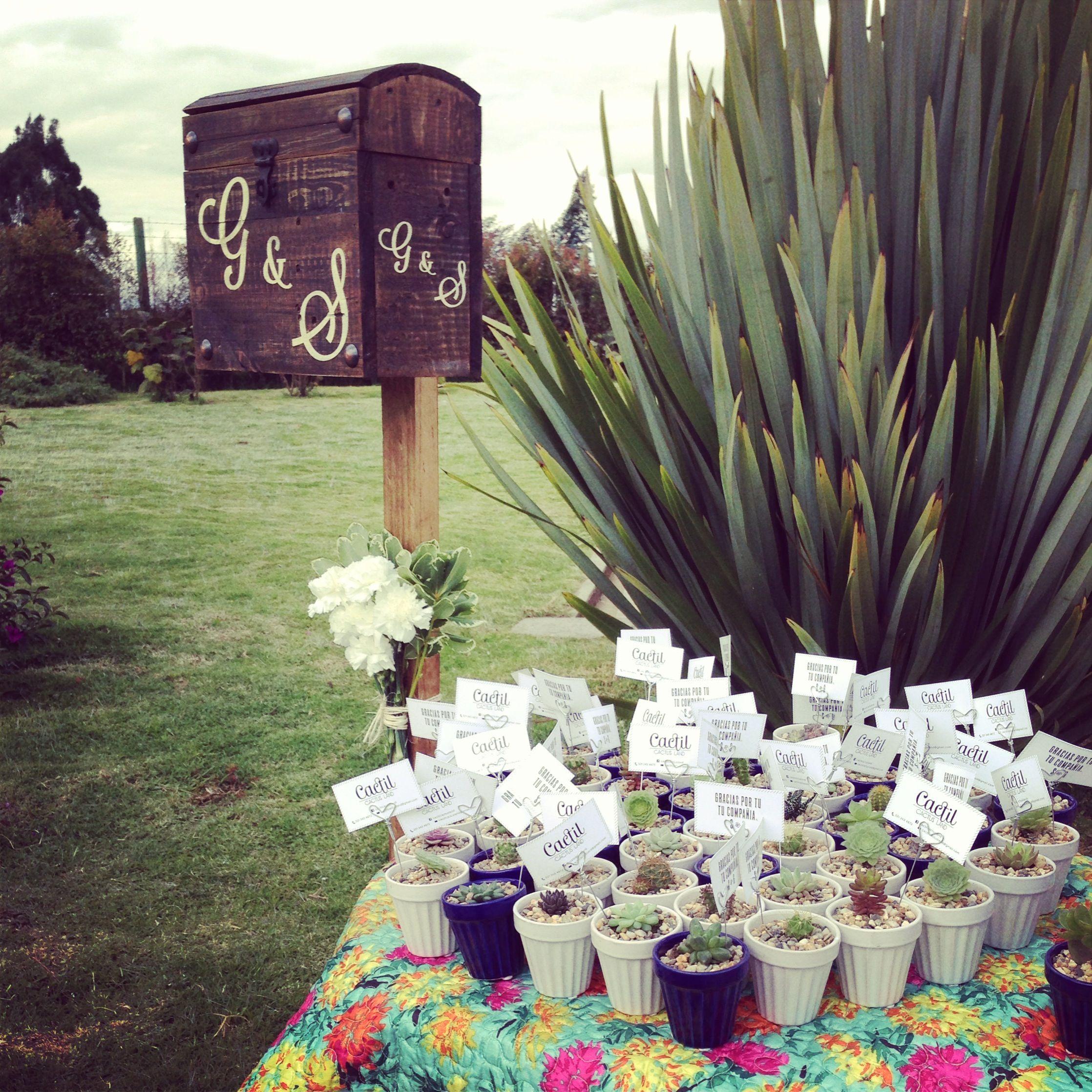 Decoración de matrimonio, wedding decoration by Cactil Cactus Land