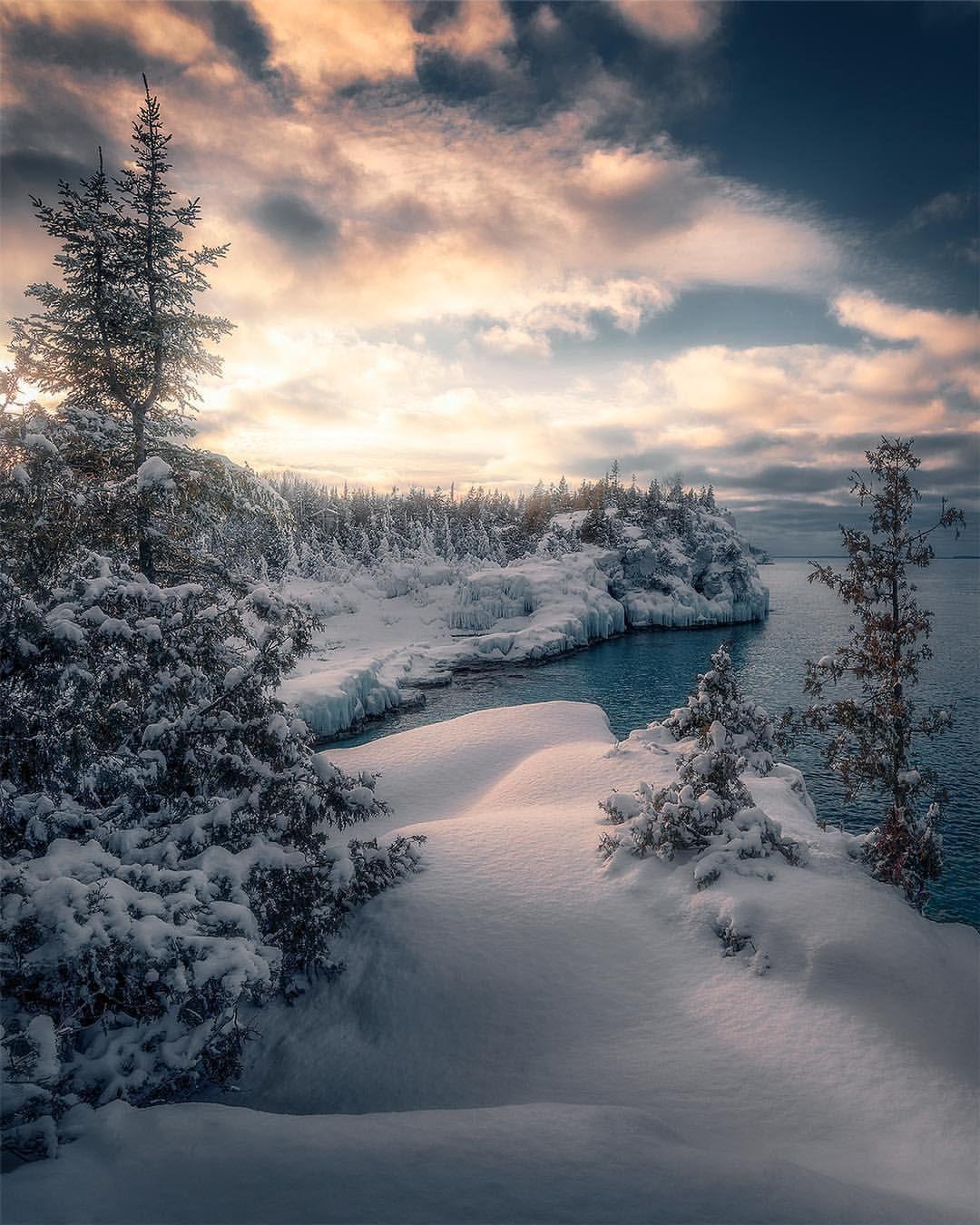 Beautiful Winter Landscapes In Canada By Joe Cantin Winterlandscape Winterlandschaft Winter Szenen Winter Fotografie