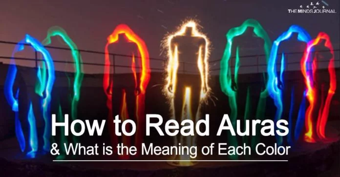 How to Read Auras And The Meaning of Each Color | Aura ...