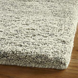 Parker Dove Grey Wool Rug Wool Shag Rug Rugs Neutral Rugs