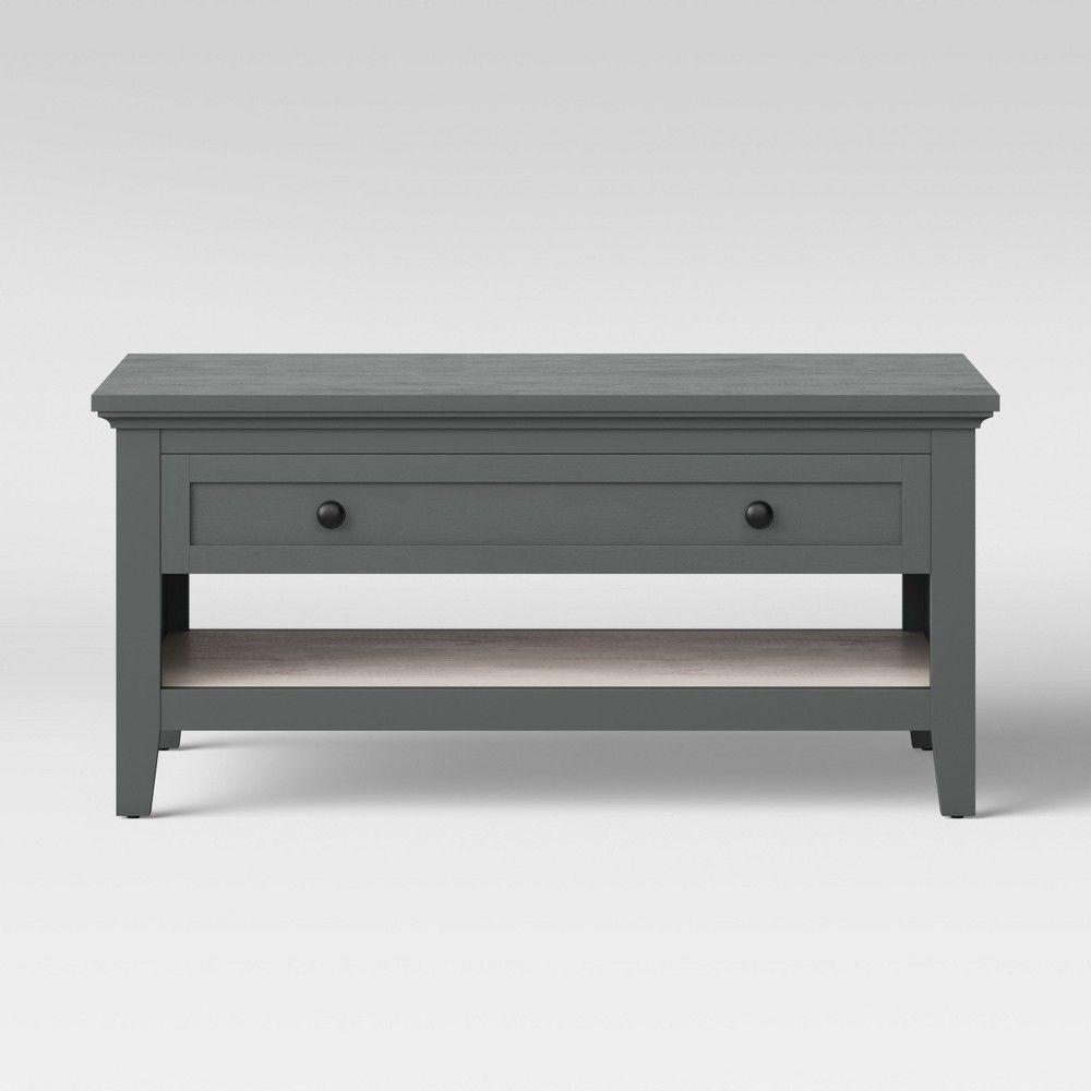 Carson Coffee Table Gray Threshold Coffee Table Grey Reclaimed Wood Coffee Table Table