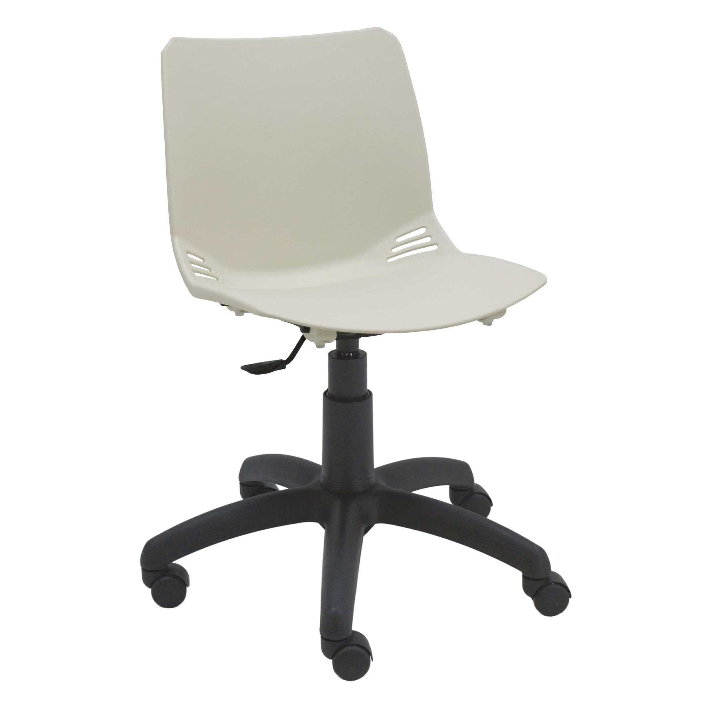 Silla giratoria pl stico modelo race sillas giratorias for Modelos de sillas para escritorio