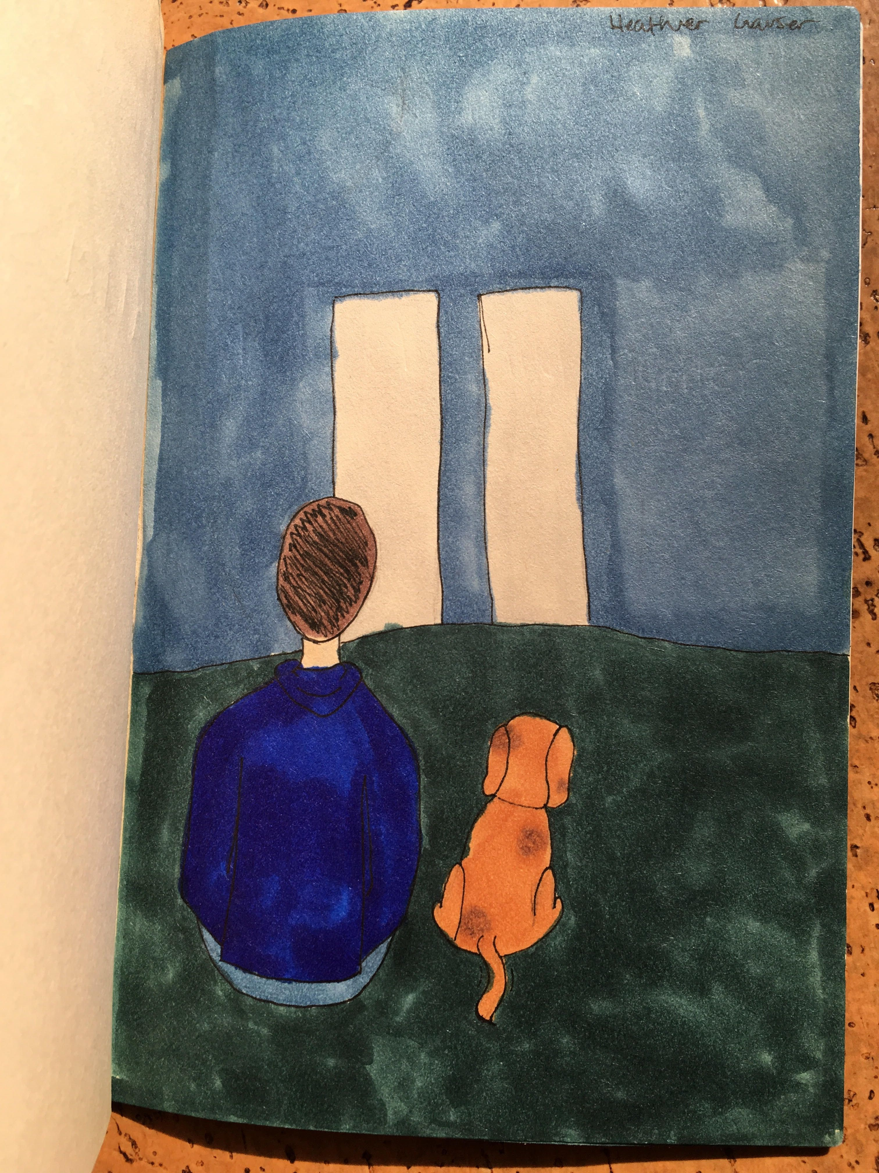 Lovely Illustration By Heather From Marlboro Middle School
