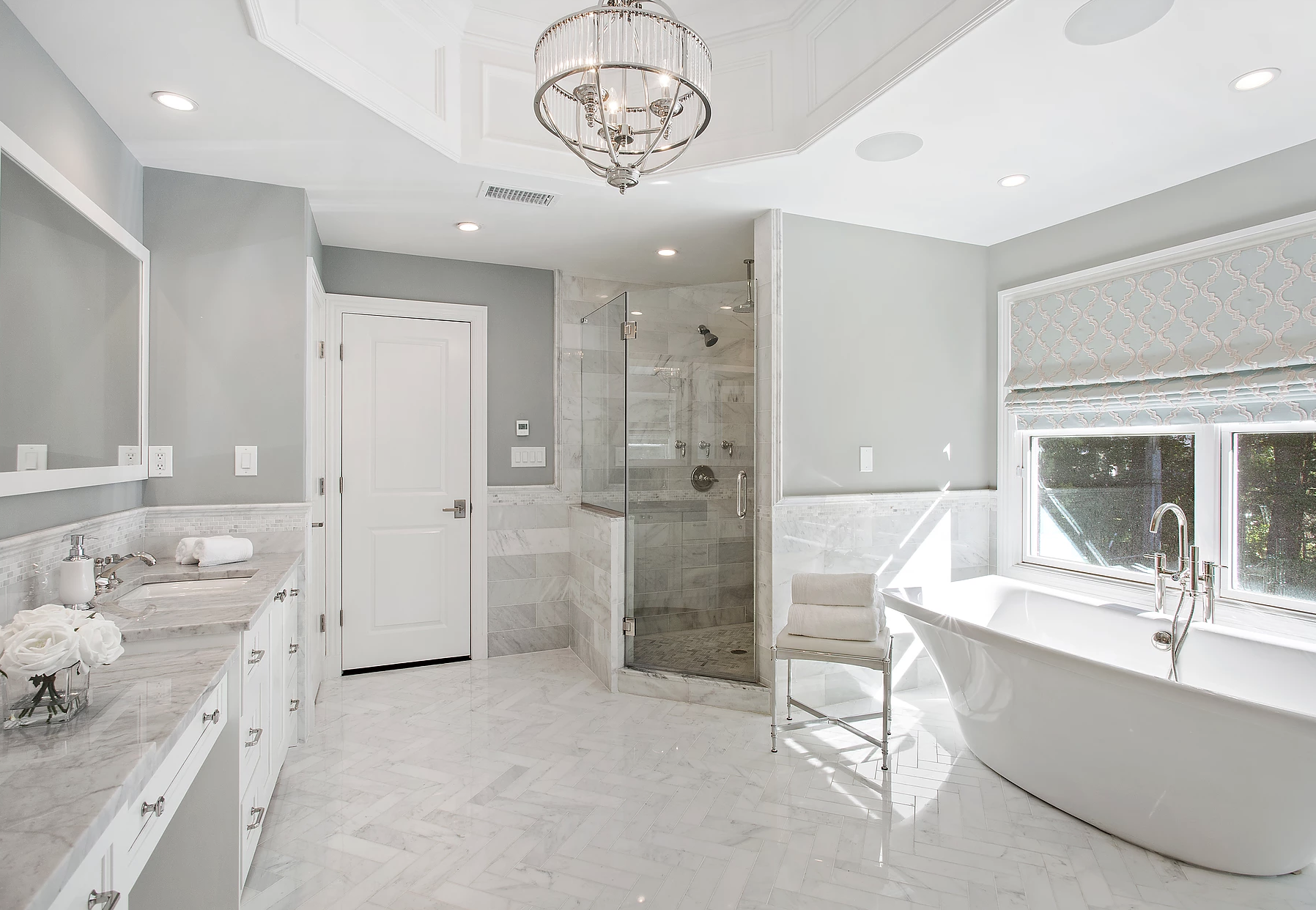 Transitional Interiors, Llc Luxury, Modern And Contemporary Bathroom Best Top