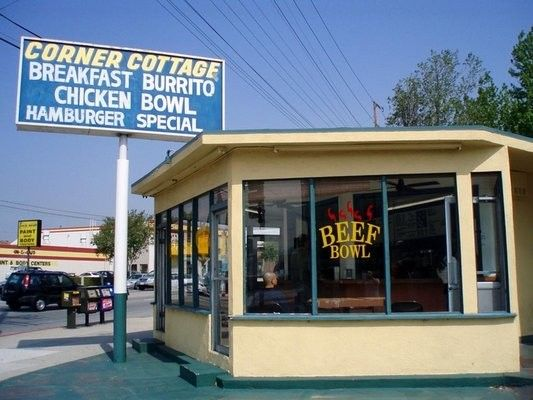 Corner Cottage 310 S Victory Blvd Burbank Ca 91502 Best Breakfast Burrito Burbank San Fernando Valley Toluca Lake