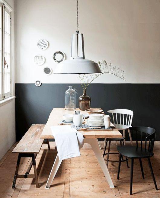 Farb#Wandgestaltung#Esstisch#Lampe# Christoph Baum Stil Fabrikjpg - essecke wandgestaltung