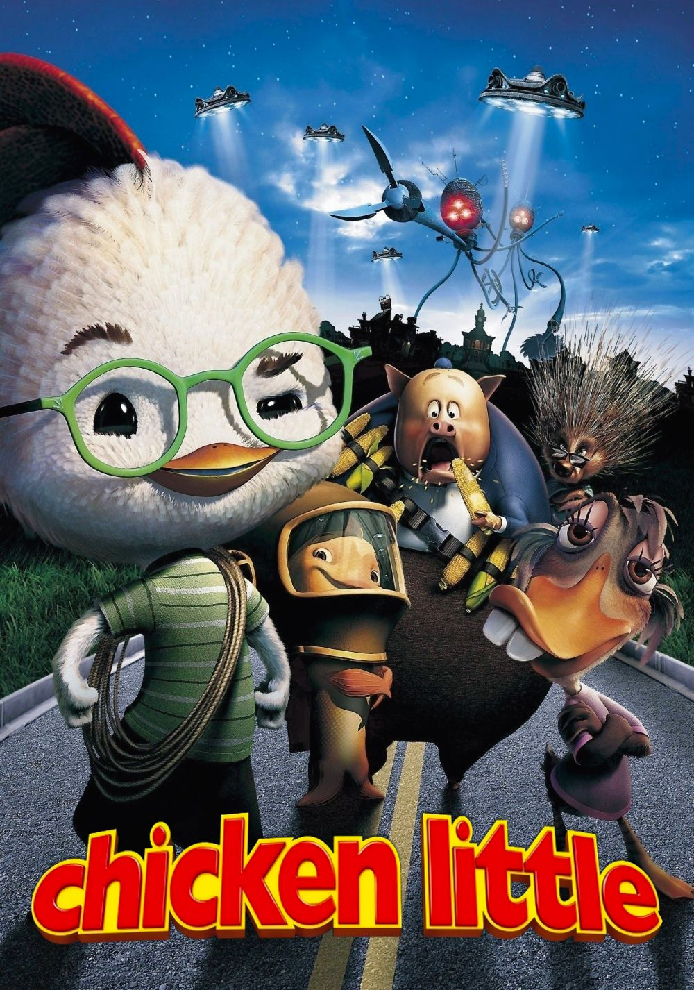 Chicken Little (2005) This time the sky really is