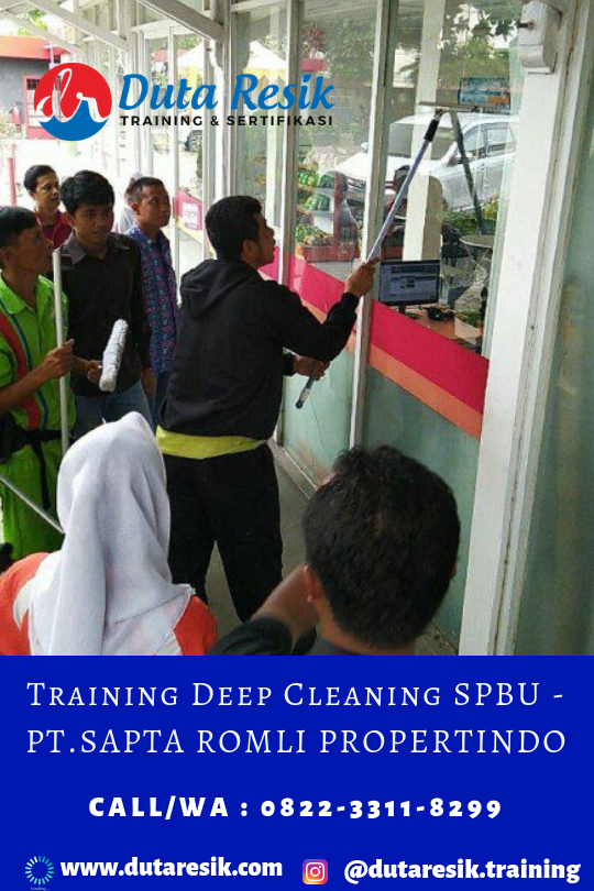 Training cleaning service, training cleaning service