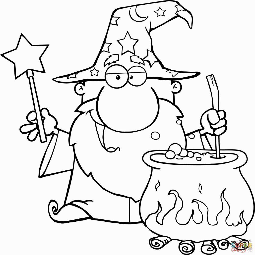Wizard Coloring Page Ausmalbilder Ausmalen Zauberer