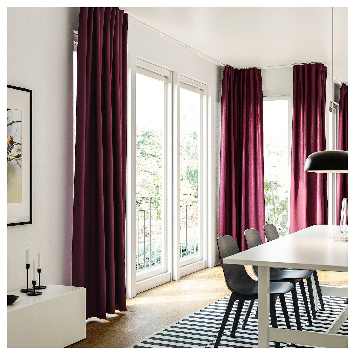 Ikea Vidga Corner Solution Living Room Windows Floor To