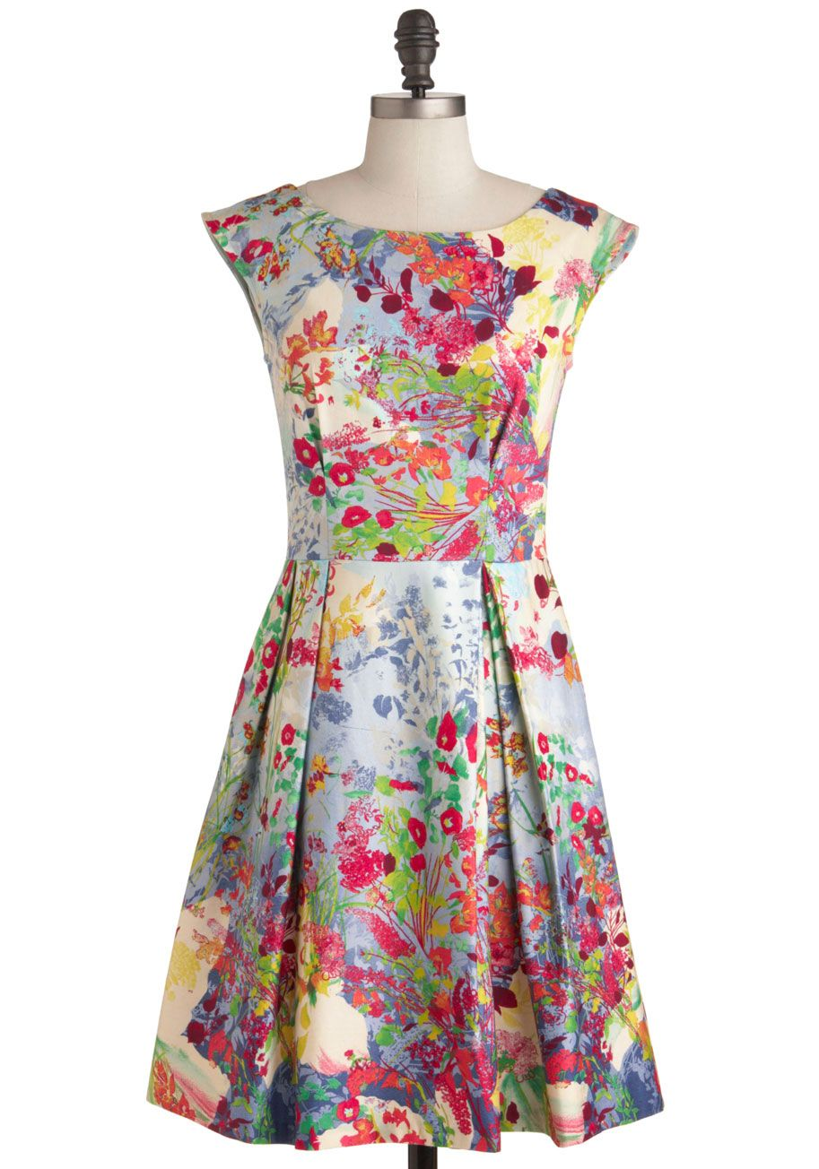 Fantastical Flora Dress