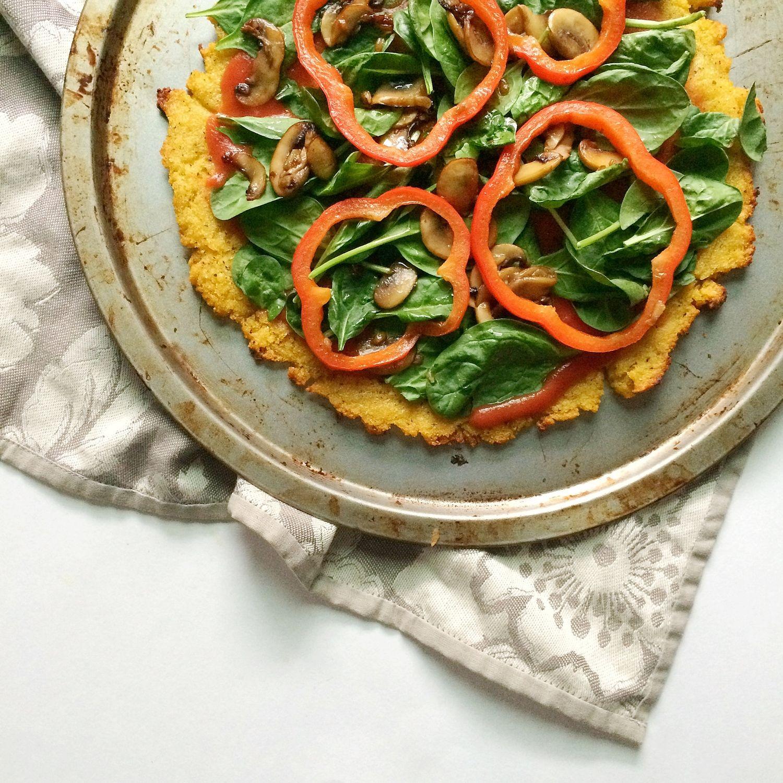 Polenta Pizza Crust — Whole Living Lauren