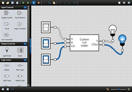 Boolean Circuit Online - Wiring Diagram •
