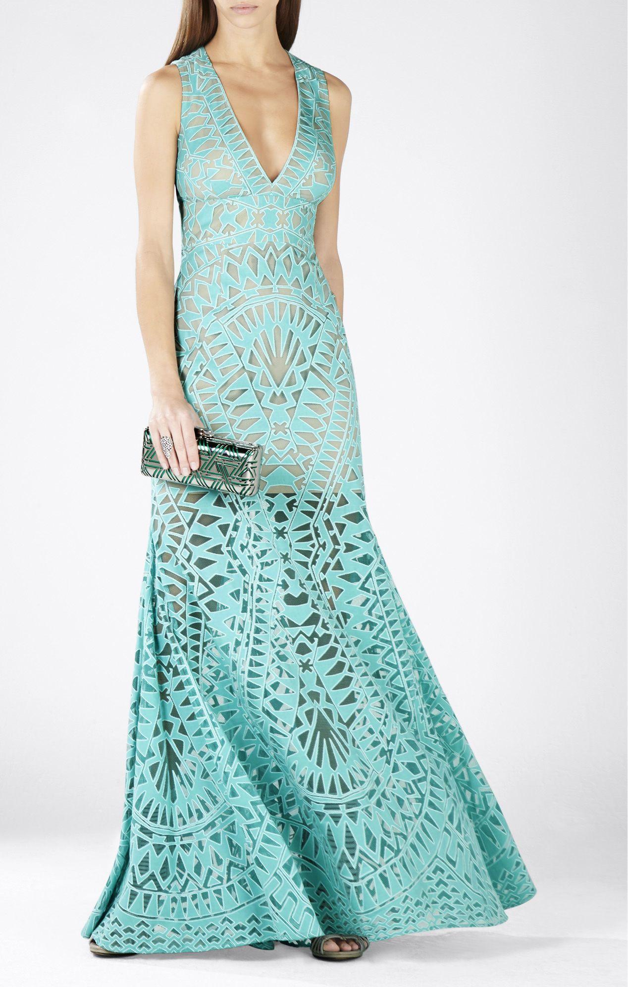Maranda Burnout Lace Dress | BCBG | Pinterest | Lace dress and Gowns