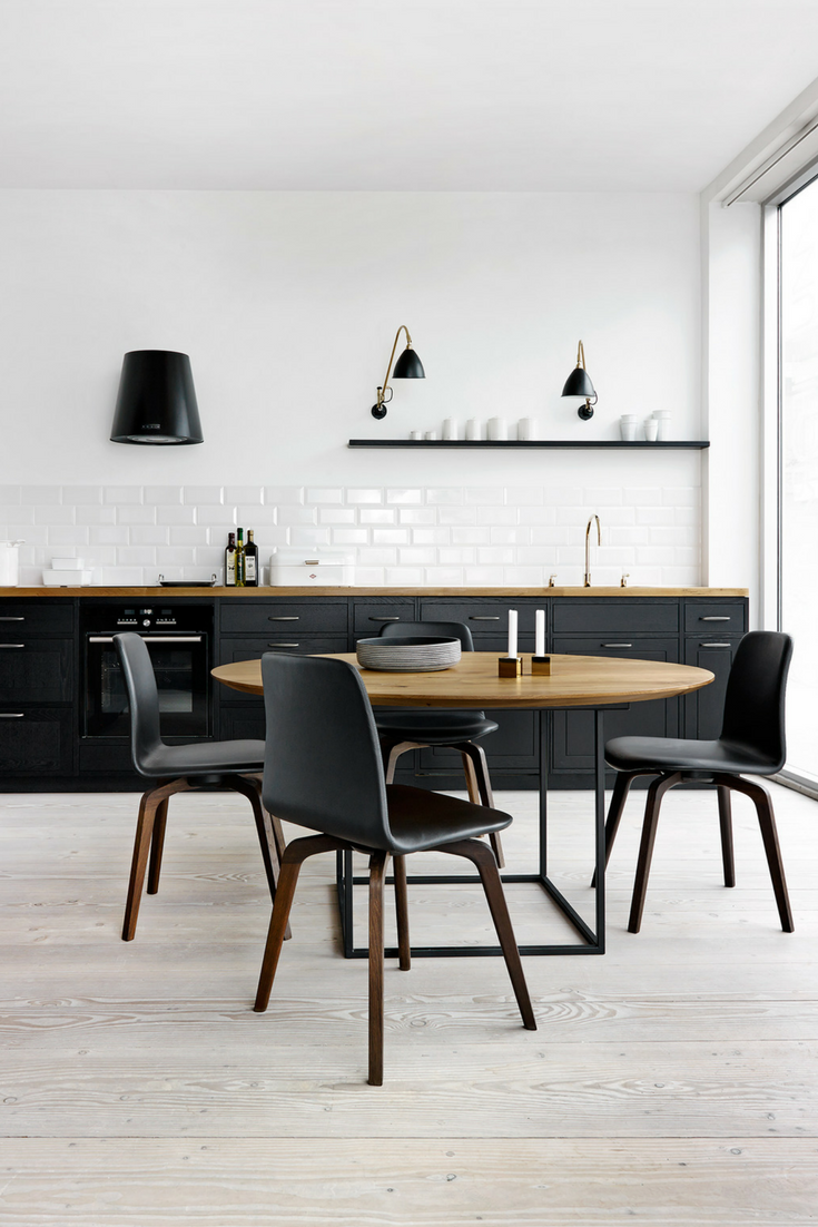 Küchenideen und designs schwarz und matt die schönsten küchenideen und bilder  wohnen