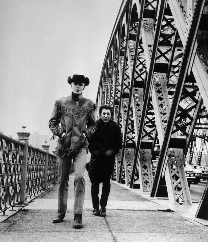 Jon Voight and Dustin Hoffman in Midnight Cowboy 1969
