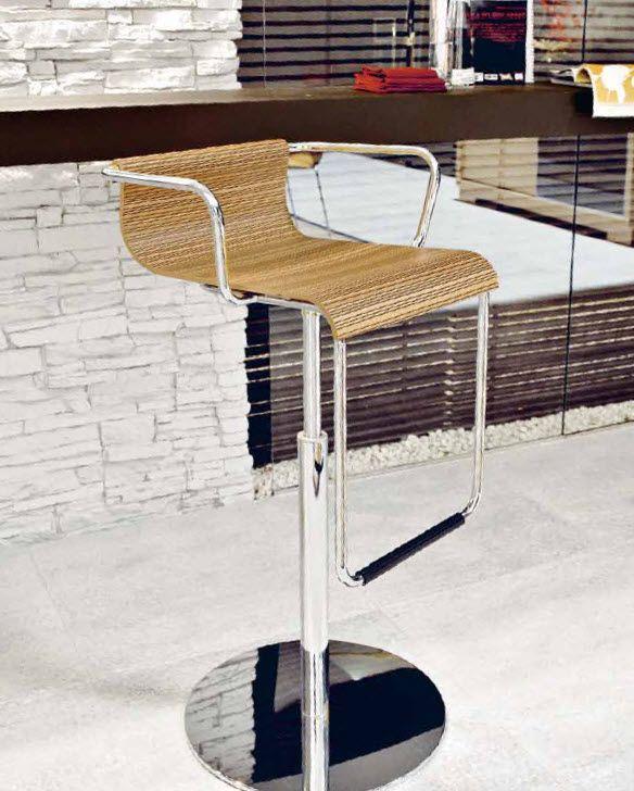 Taburete barra acero cod 2029 mesas y sillas para tu for Sillas para barra americana