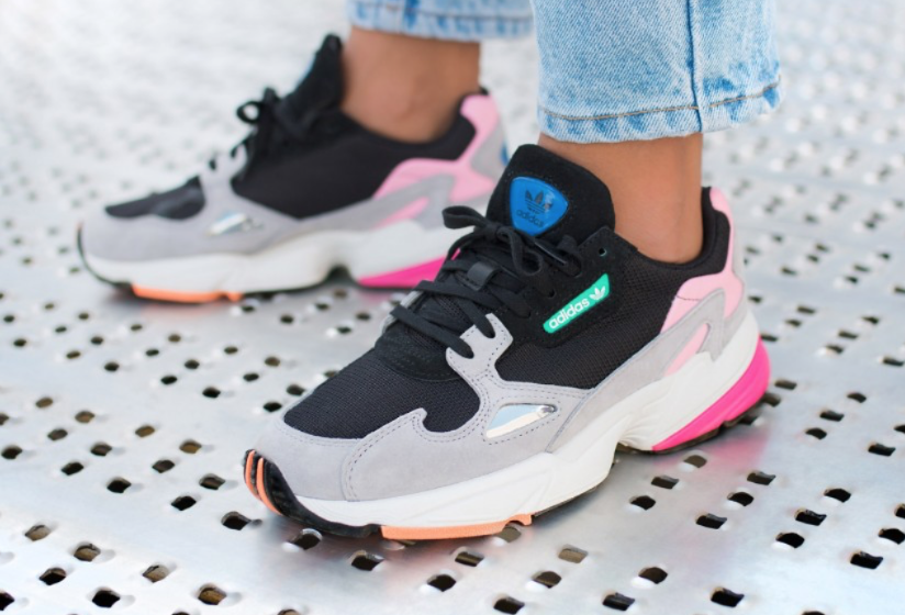 The adidas Falcon was revived to follow the