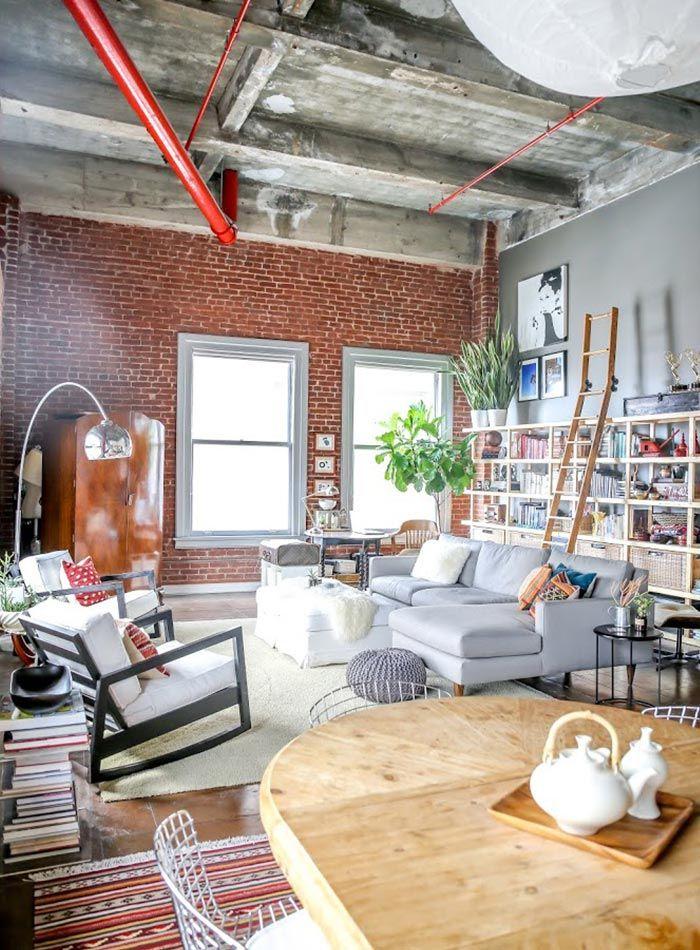 Loft in Dowtown L.A. met te gek eclectisch interieur - Lofts, Gek en ...