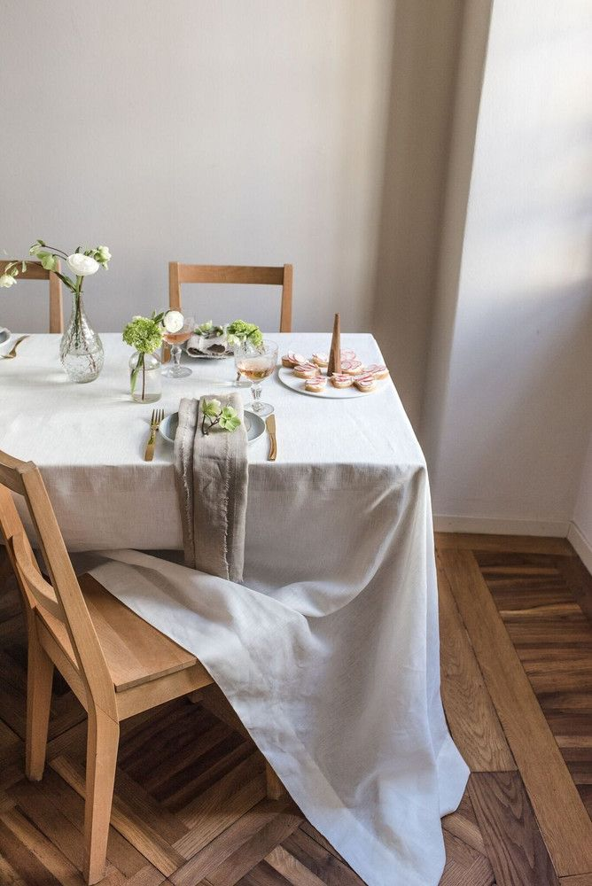 How To Make The Most Of Your Entertaining Linens Smooth Linen Custom Table Cloth Table Cloth