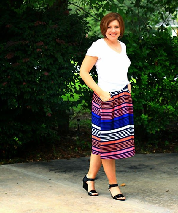 7c7aa2ab1378 Tee- Old Navy option option Skirt- Old Navy option option shoes- TJMaxx  option option option Worn August 2014 .