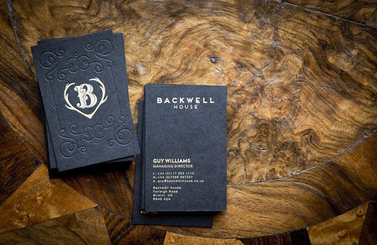 Backwell House Business Card Business Card Design Inspiration Business Card Design Inspiration Business Card Design Creative Fun Business Card Design