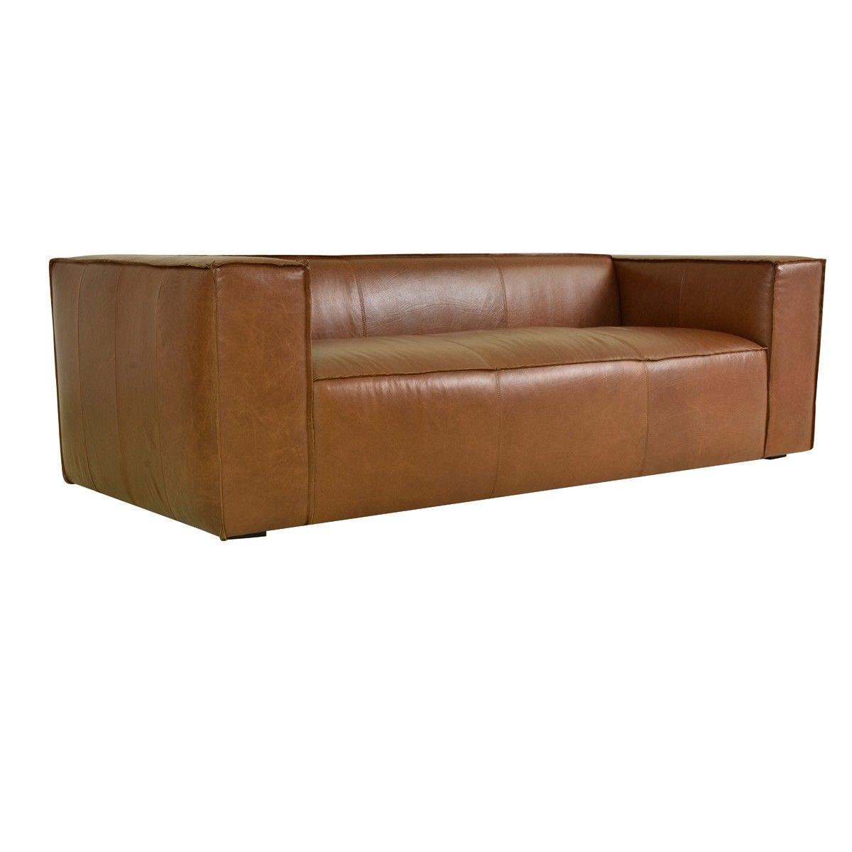 Classichome Interior Design: Jonathan Sofa Tobacco