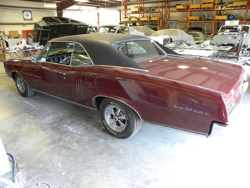 Our Shop Is Getting Ready To Restore This 67 Lemans To Follow The Builds Progress Click The Pic To Go To Our W Pontiac Lemans Classic Car Restoration Pontiac