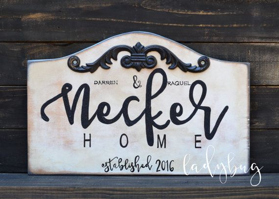 Home Established sign. Customize it with your by Ladybugdesignbyeu
