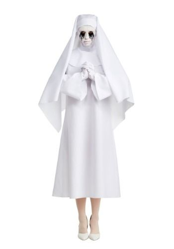American Horror Story The White Nun Deluxe Womens Costume Costumes - womens halloween ideas