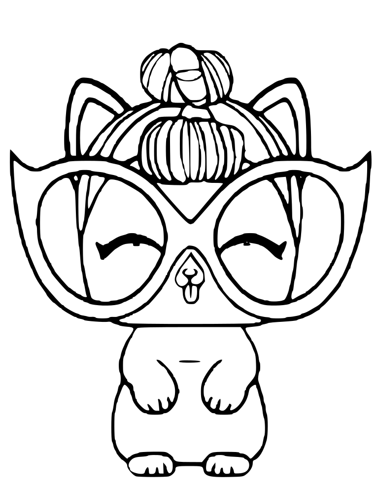 Lol Dolls Coloring Pages Best Coloring Pages For Kids Unicorn Coloring Pages Kitty Coloring Coloring Pages