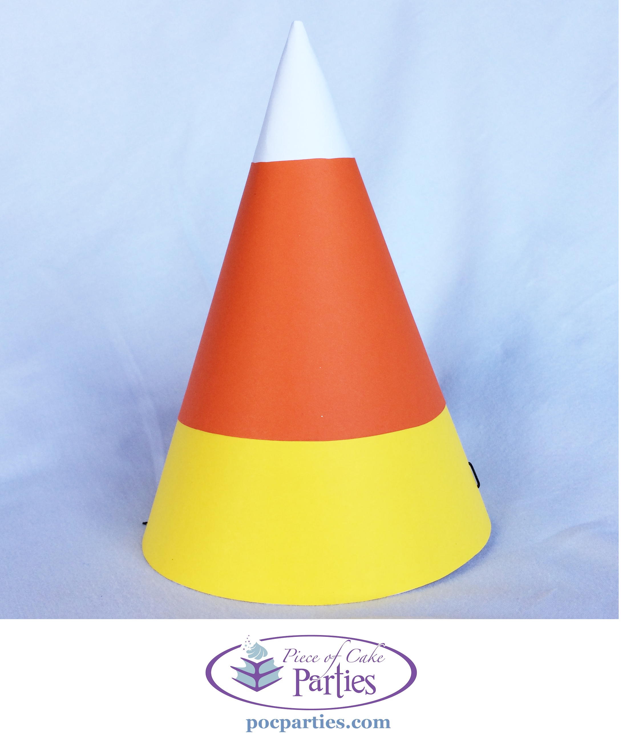 Halloween Candy Corn Party Hat  sc 1 st  Pinterest & Halloween Candy Corn Party Hat | Halloween birthday parties ...