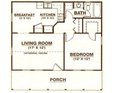 Guest house on pinterest mother in law house plans and for Mother in law cottage plans