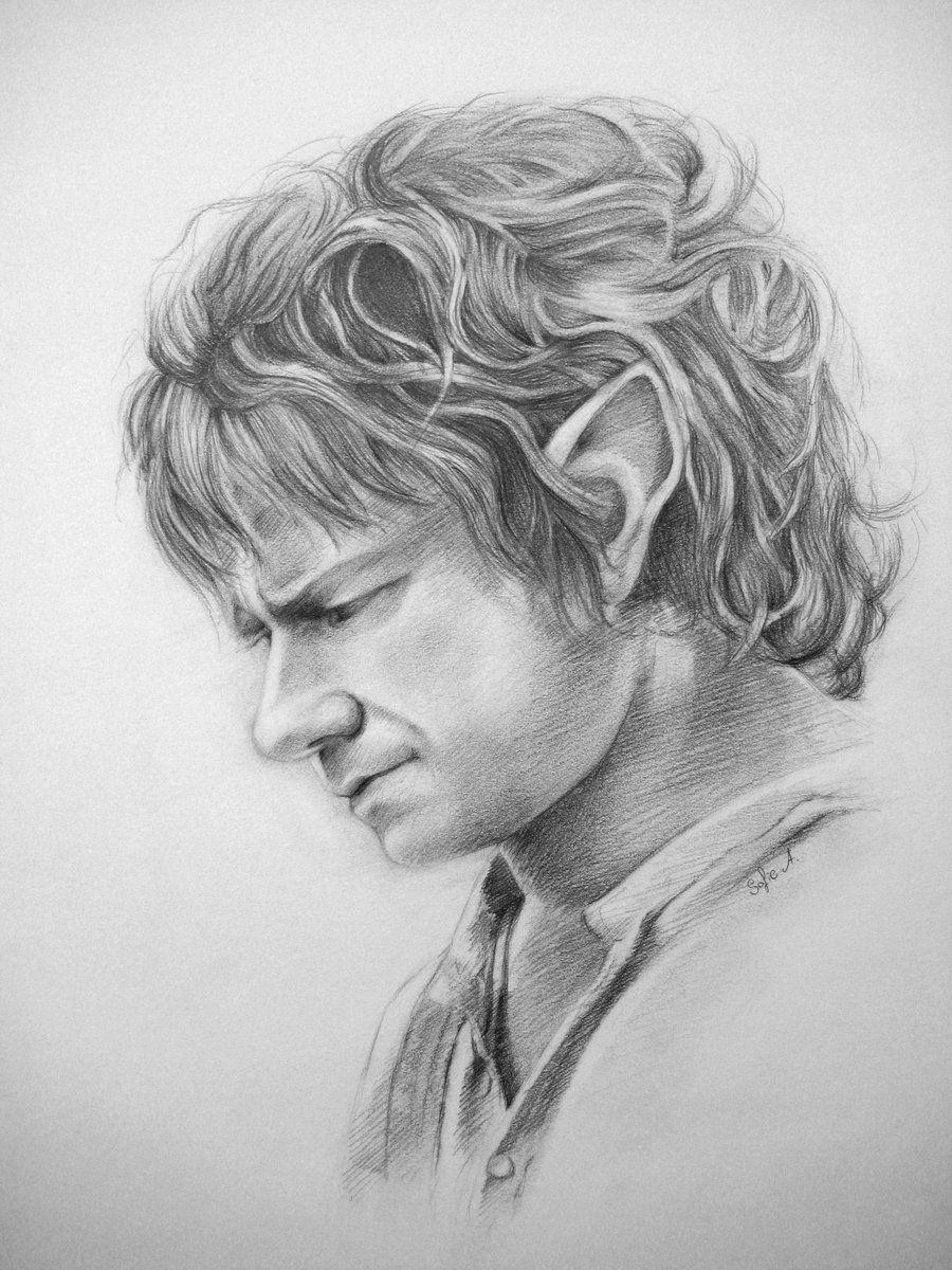 Bilbo Baggins by lady-hamilton.deviantart.com on @deviantART | LOTR ...