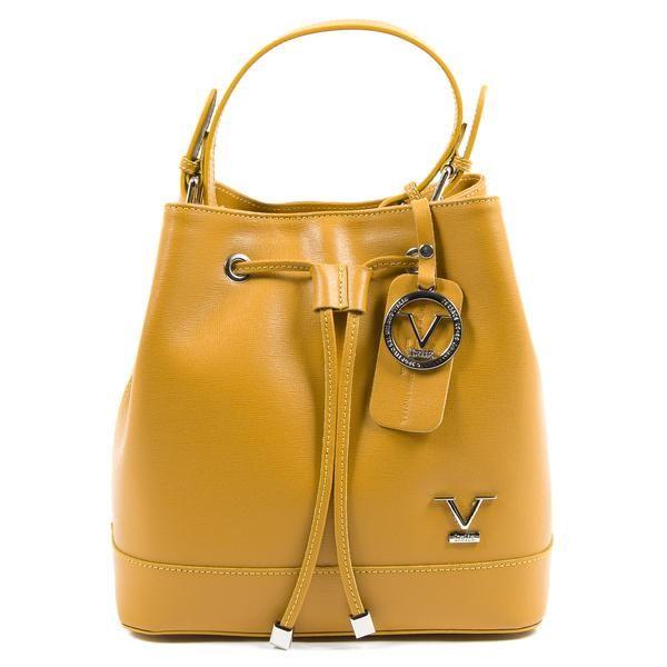 492b6e66a9a7 V 1969 Italia Womens Handbag Yellow LINZIE