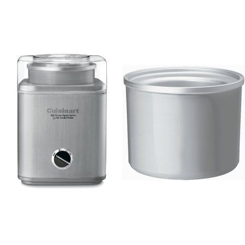 Amazon Com Cuisinart Ice 30bc Pure Indulgence 2 Quart Automatic Frozen Yogurt Sorbet And Ice Cream Maker Kit Ice Cream Maker Freezer Bowl Ice Cream Machine