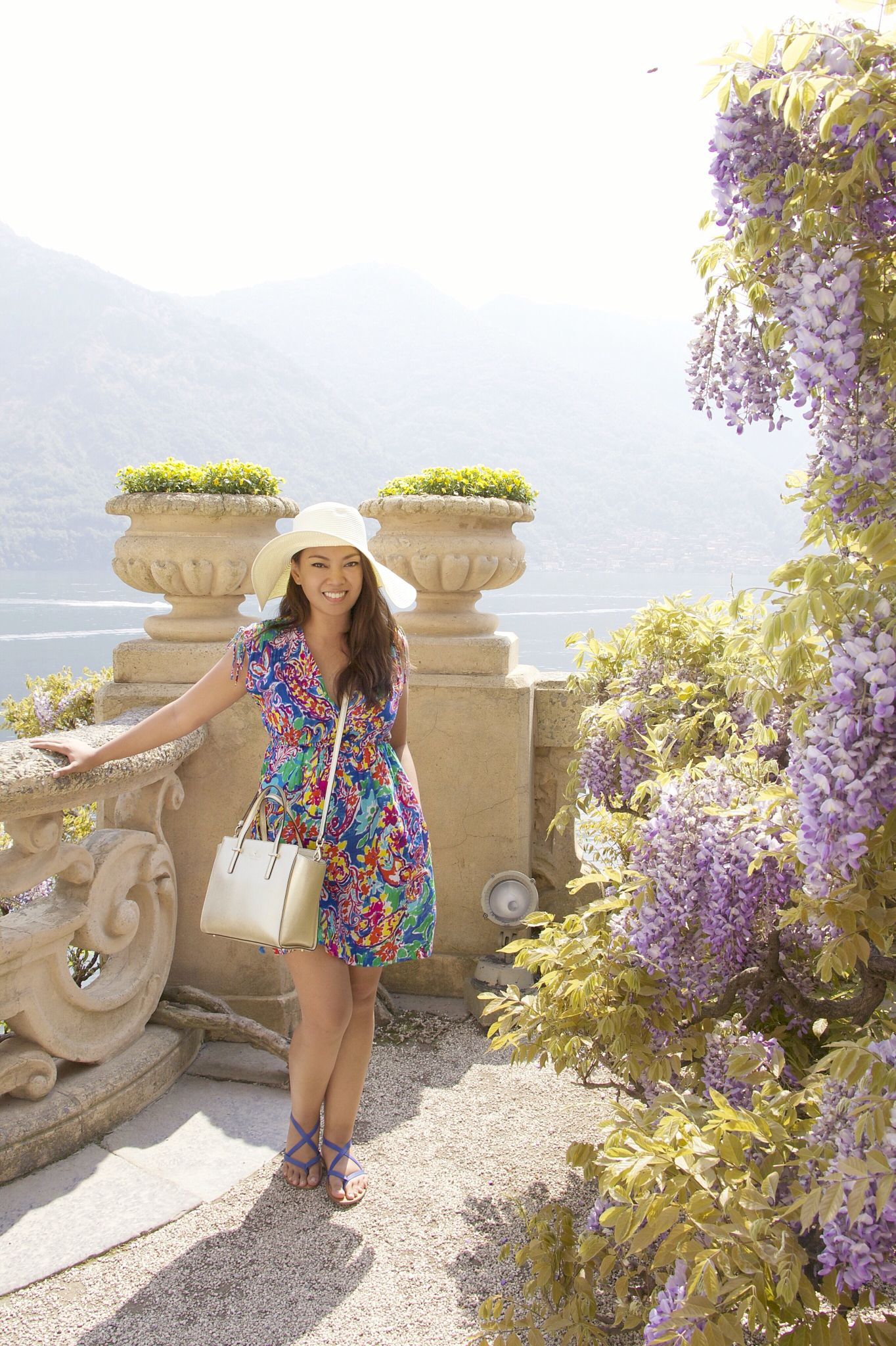 Playing with color in Naboo (Villa del Balbianello, Lake Como, Italy)