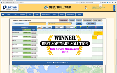 Field Force Tracker Field Force Manager Software Manages Your - What is the best invoice app for service business