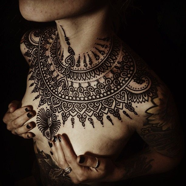Various Tattoo Designs For Your Body: Best 25+ Henna Chest Ideas On Pinterest