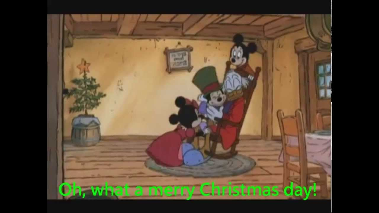 Oh, What a Merry Christmas Day-Mickey\'s Christmas Carol (Sing Along ...