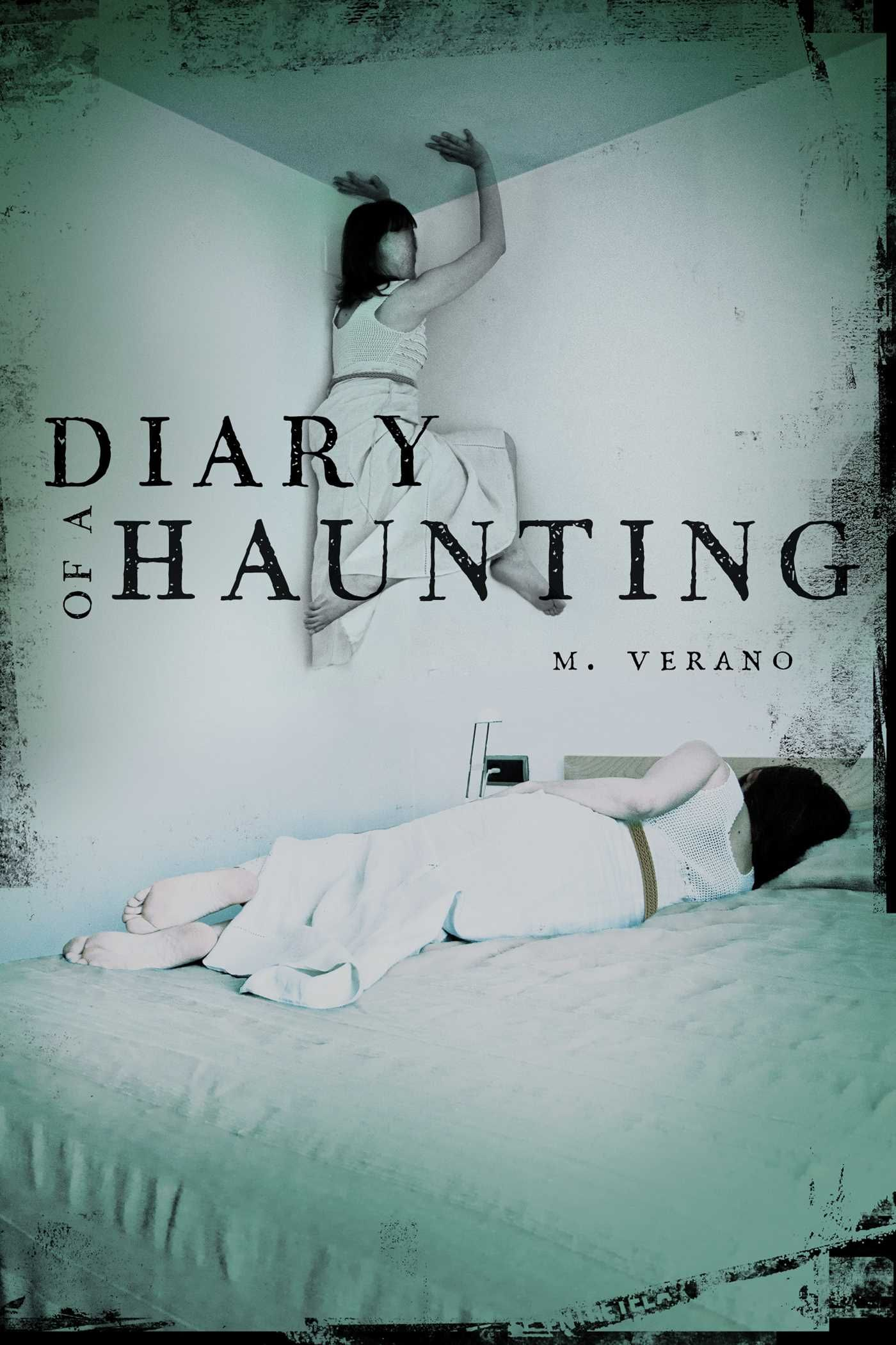 #CoverReveal  Diary of a Haunting by M. Verano